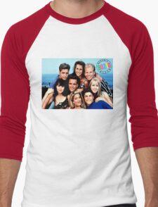 90210-cast Men's Baseball ¾ T-Shirt