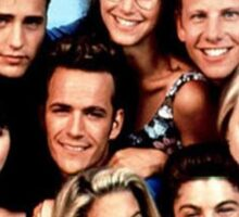 90210-cast Sticker