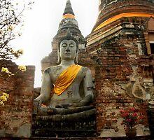 Wat Yai Chaimongkhon Wat and Buddha - image 2 by missmoneypenny