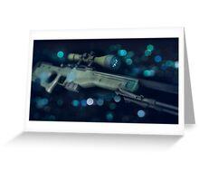 CSGO Gun Series | AWP Bokeh Greeting Card