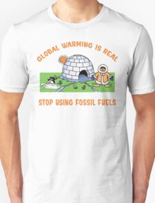 Earth Day Stop Global Warming Unisex T-Shirt