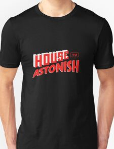 House to Astonish – Red Logo T-Shirt