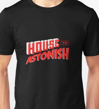 House to Astonish – Red Logo T-Shirt