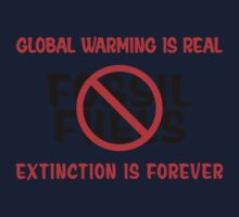 Earth Day Stop Using Fossil Fuels Kids Clothes