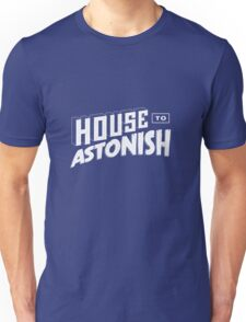 House to Astonish – White logo T-Shirt