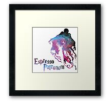 Harry potter espresso patronum  Framed Print