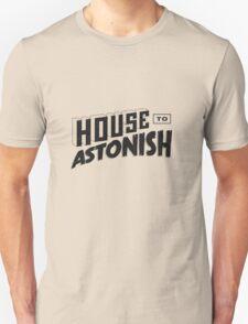 House to Astonish – Black logo T-Shirt