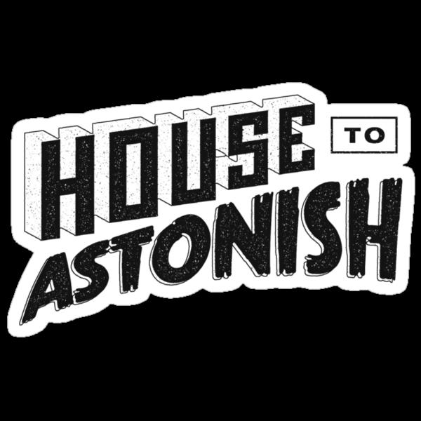 House to Astonish – Black logo by HouseToAstonish