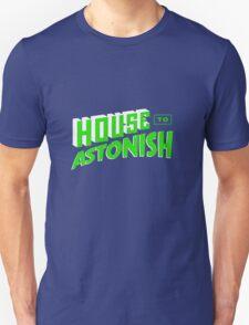 House to Astonish – Green logo T-Shirt