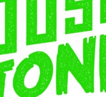 House to Astonish – Green logo Sticker