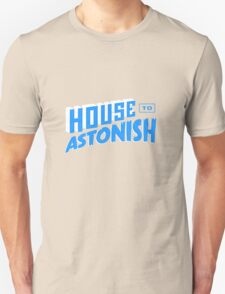 House to Astonish – Blue logo T-Shirt