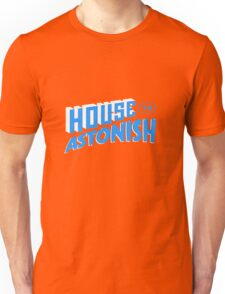 House to Astonish – Blue logo T-Shirt