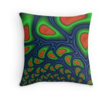 Hot Pepper Meltdown Throw Pillow