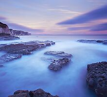 Thornwick Bay Sunset by MartinWilliams