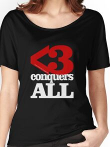 Metamodern Love - Love Conquers All Women's Relaxed Fit T-Shirt