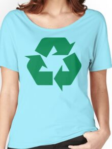 Recycle Women's Relaxed Fit T-Shirt