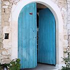 Blue Door by Francis Drake