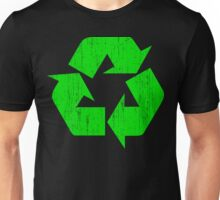 Earth Day Grunge Recycle Symbol Unisex T-Shirt