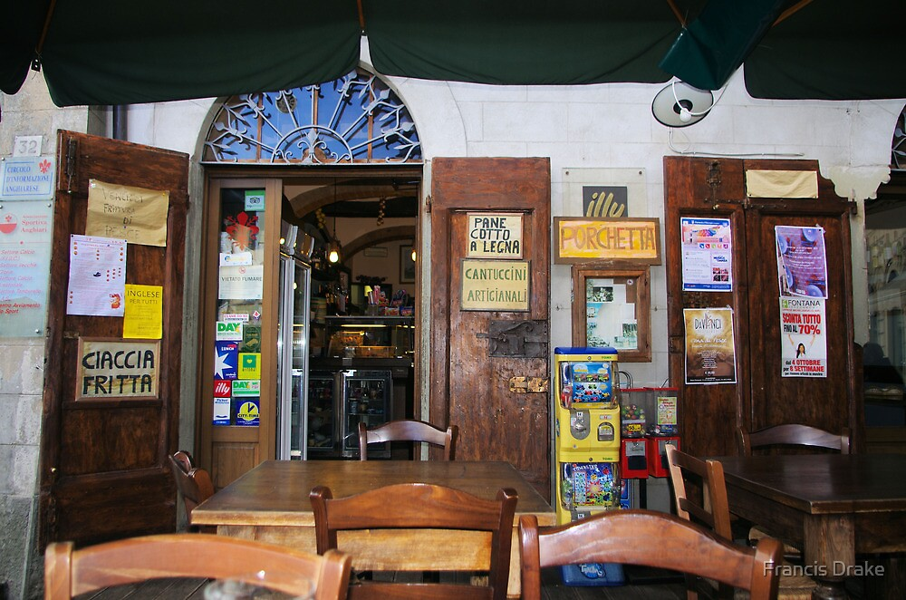 Classic Bar - Italy by Francis Drake