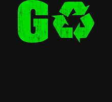 Earth Day Grunge Go Recycle T-Shirt