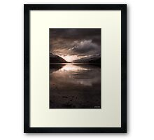 Sunset's Gold || Arrochar and Loch Long, Scotland Framed Print