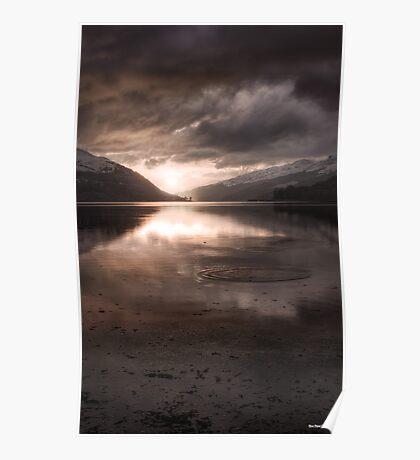 Sunset's Gold || Arrochar and Loch Long, Scotland Poster