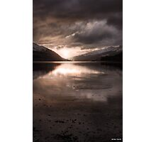 Sunset's Gold || Arrochar and Loch Long, Scotland Photographic Print