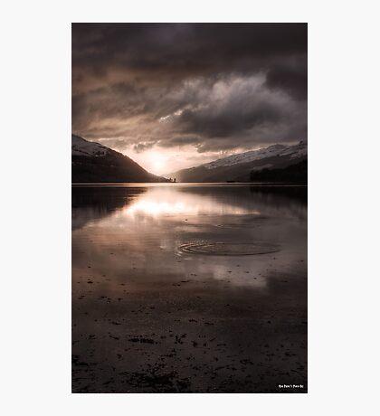 Sunset's Gold    Arrochar and Loch Long, Scotland Photographic Print
