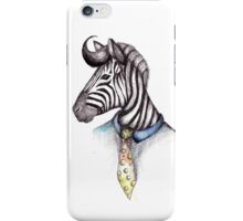 Snazzy Zebra iPhone Case/Skin
