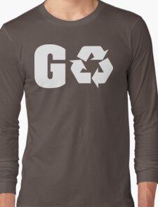 Earth Day Go Green Long Sleeve T-Shirt