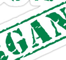 Earth Day 100% Organic Sticker