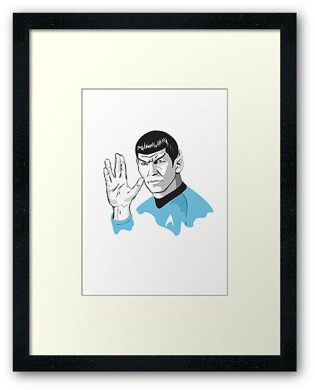 Star Trek Spock  by Creative Spectator