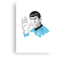 Star Trek Spock  Canvas Print