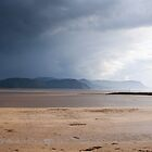 Rain Clouds over West Shore, Llandudno by RH-prints