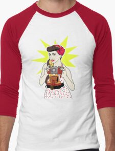 Pin Up Men's Baseball ¾ T-Shirt