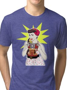 Pin Up Tri-blend T-Shirt