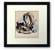 Mad Hatter Color Framed Print