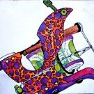 leopard liner by Roy Northrop