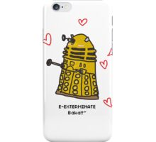 Tsundere Dalek-chan iPhone Case/Skin
