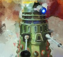 Dalek invasion of Earth, AD 2013 by buttonpresser
