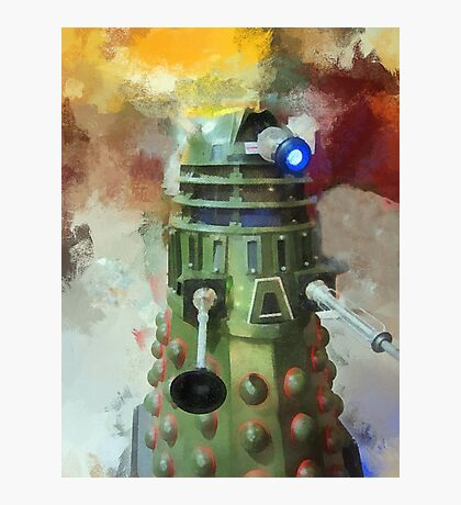 Dalek invasion of Earth, AD 2013 Photographic Print