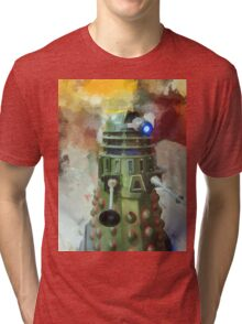 Dalek invasion of Earth, AD 2013 Tri-blend T-Shirt