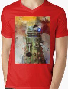 Dalek invasion of Earth, AD 2013 Mens V-Neck T-Shirt