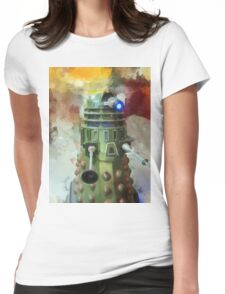 Dalek invasion of Earth, AD 2013 Womens Fitted T-Shirt