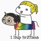 Brittana Ship is sailing. by Fiercezucchini