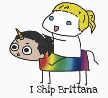 Brittana Ship is sailing. by Fiercezucchini