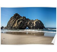 Rock Formation, Pfeiffer Beach Poster