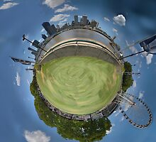 The Centre of Brisbane by AHakir
