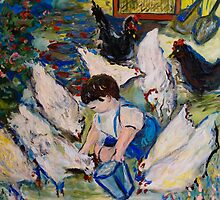 Michael and His Chickens by Julie-Ann Vellios