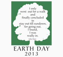 Earth Day 2013 John Muir Kids Clothes